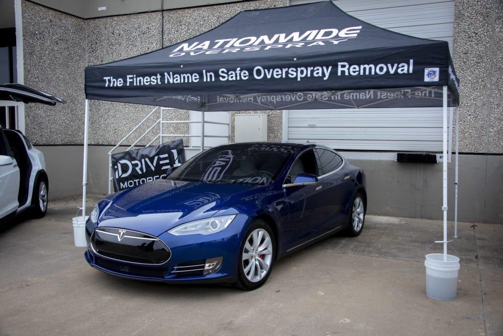 nationwide overspray dallas Trend Outside Tesla