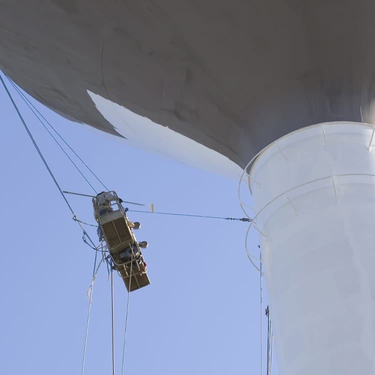 nationwide overspray dallas painter water tower