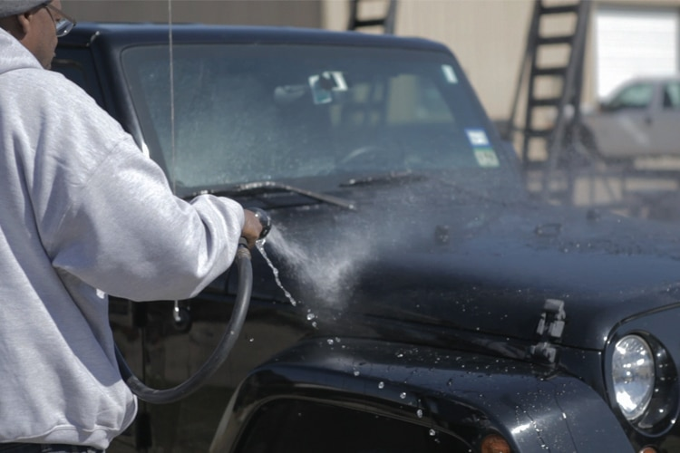 nationwide overspray dallas cleaning jeep